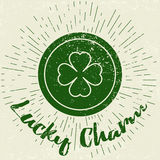 Saint Patricks Day design elements Royalty Free Stock Image