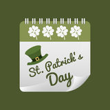 Saint patricks day design Royalty Free Stock Photography