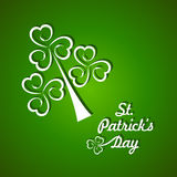 Saint Patricks day design Stock Images