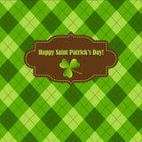 Saint Patricks day frame Royalty Free Stock Photography