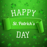 Saint Patricks Day greeting card. Background Royalty Free Stock Image