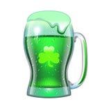 Saint Patricks Day holiday. Mug of green beer for the holiday Royalty Free Stock Photography