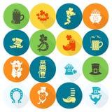 Saint Patricks Day Icon Set Stock Image