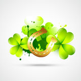 Saint patricks day illustration Royalty Free Stock Photos