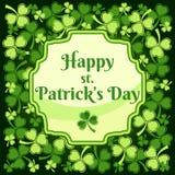 Saint Patricks Day Label Royalty Free Stock Images