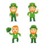 Saint Patricks Day leprechauns Royalty Free Stock Photos