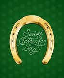 Saint Patricks Day lettering Royalty Free Stock Photo