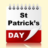 Saint Patricks Day Means Date St And Irish Stock Photo
