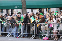 Saint Patricks Day Parade, New York City. New York City- March 17 2010: Saint Patricks Day Parade on March 17, 2010 in New York City Stock Photos