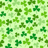 Saint Patricks day seamless background Royalty Free Stock Images