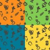 Saint Patricks Day Seamless Pattern Royalty Free Stock Image