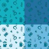 Saint Patricks Day Seamless Pattern Royalty Free Stock Images