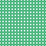 Saint Patricks Day seamless wallpaper with clover pattern on whi Royalty Free Stock Photography