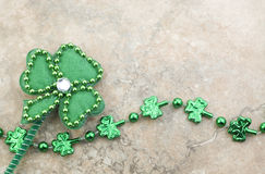 Saint Patricks Day Shamrock Vintage Stock Photo