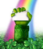 Saint Patricks Day Sign Stock Photos