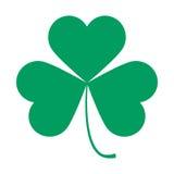 Saint Patricks Day symbol, shamrock leaf Royalty Free Stock Image