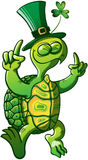 Saint Patricks Day Turtle Royalty Free Stock Photos