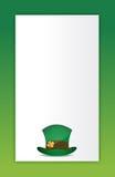 Saint patricks hat background Stock Photos