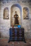 Saint patron de San Francisco de la basilique de Francisco au Cuba Photo libre de droits