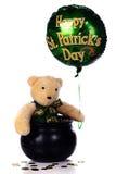 Saint Patty Bear Royalty Free Stock Image
