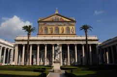 Saint Paul. Basilica of Saint Paul Outside the Walls Royalty Free Stock Images