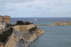 Saint Paul Bay Malta Stock Image