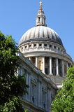 Saint Paul cathedral. In London, UK Royalty Free Stock Images