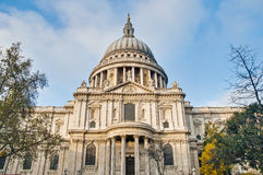 Saint Paul Cathedral at London, England. Saint Paul Cathedral located at London, England Royalty Free Stock Images