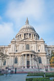 Saint Paul Cathedral at London, England Royalty Free Stock Images
