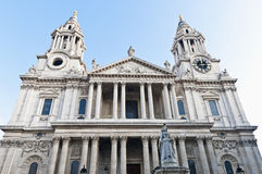 Saint Paul Cathedral at London, England Stock Photography