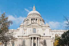 Saint Paul Cathedral at London, England Royalty Free Stock Photo
