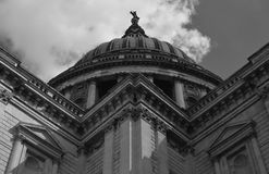 Saint Paul Cathedral in London Royalty Free Stock Image