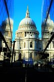 Saint Paul Cathedral London stock images