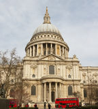 Saint Paul cathedral in London. Stock Image