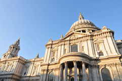 Saint Paul Cathedral in London, UK Royalty Free Stock Photo