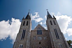 Saint Paul Cathedral in Midland Ontario. Pilgrims place Royalty Free Stock Photography