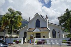 Saint Paul Cathedral in Victoria. Mahe island, Seychelles Royalty Free Stock Photography