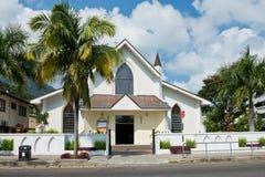 Saint Paul Cathedral in Victoria, Mahe island, Seychelles Stock Photo
