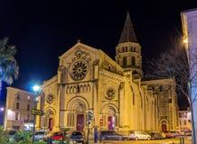 Saint Paul church in Nimes, France Stock Photo