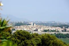 Saint Paul de Vence, France. View of the medieval village of St Paul de Vence (French Riviera Stock Images