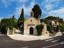 Saint Paul de Vence - igreja medieval velha Foto de Stock Royalty Free