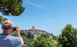 Saint Paul de Vence, Provence, France Royalty Free Stock Photo