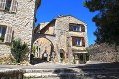 Saint Paul de Vence, Provence, France stock photography