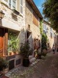 Saint Paul de Vence - ruas e arquitetura imagem de stock royalty free