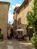 Saint Paul de Vence - ruas e arquitetura fotografia de stock royalty free
