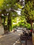 Saint Paul de Vence - ruas e arquitetura imagens de stock royalty free