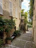 Saint Paul de Vence - Streets and Architecture royalty free stock photography