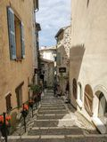 Saint Paul de Vence - Streets and Architecture stock photo