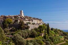 Saint-Paul-de-Vence view (France) Royalty Free Stock Image