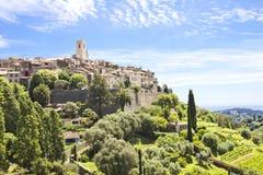Saint Paul DE Vence, zuiden van Frankrijk Stock Foto